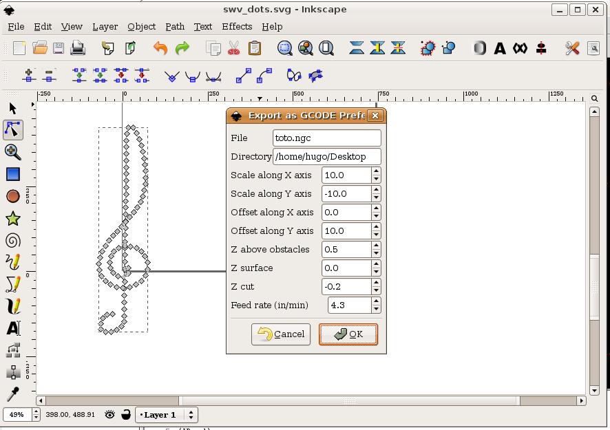 LinuxCNC Documentation Wiki: InkscapeHowto
