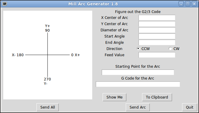 Simple Linuxcnc G Code Generators